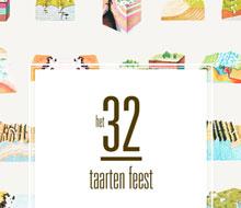 32 taarten feest